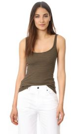 Vince Striped Tank at Shopbop