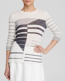 Vince Tee - Abstract Stripe at Bloomingdales