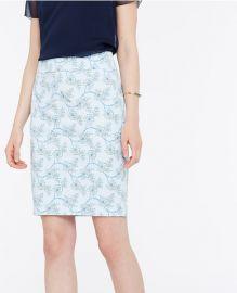 Vine Floral Pencil Skirt at Ann Taylor