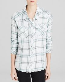Vintage Havana Shirt - Mixed Plaid Button Down Collared at Bloomingdales