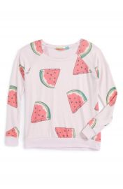 Vintage Havana Watermelon Print Sweatshirt  Big Girls at Nordstrom