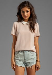 Vintage Rose Alex Collar Top by Marc by Marc Jacobs at Revolve