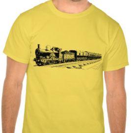 Vintage Train Tee at Zazzle
