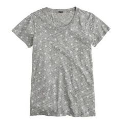 Vintage cotton tee in Stars at J. Crew