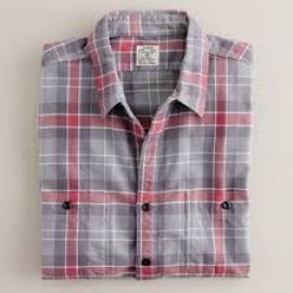 Vintage flannel shirt in winterbrook plaid at J. Crew