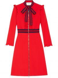 Viscose Jersey Dress Gucci at Farfetch