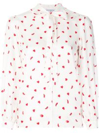 Vivetta Heart And Shoe Print Blouse  568 - Buy Online SS18 - Quick Shipping  Price at Farfetch