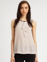 Vivie ruffle tank by Marc by Marc Jacobs at Saks Fifth Avenue