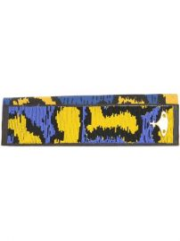 Vivienne Westwood Leopard Print Beaded Clutch at Farfetch