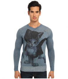 Vivienne Westwood MAN Gold Label Kitten Sweater Indigo at 6pm
