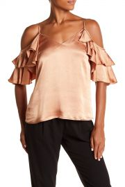 WAYF   Luna Ruffled Cold-Shoulder Top   Nordstrom Rack at Nordstrom Rack