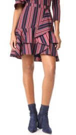 WAYF Clark Ruffle Skirt at Shopbop
