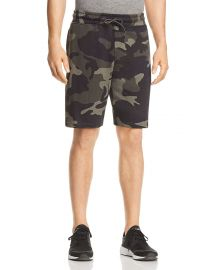 WESC MARTY CAMOUFLAGE SWEAT SHORTS at Bloomingdales
