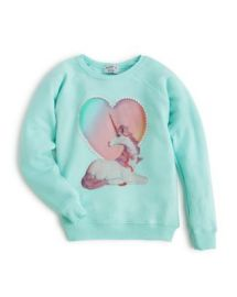 WILDFOX Girls  039  Unicorn Sweatshirt  Sizes 7-14 - 100  Exclusive at Bloomingdales