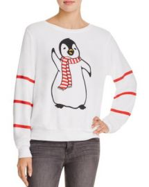 WILDFOX Penguin Sweatshirt - 100  Bloomingdale  039 s Exclusive at Bloomingdales