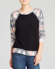 WILDFOX Pullover - Black Rose at Bloomingdales