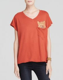 WILDFOX Tee - Pocket Fox at Bloomingdales