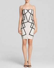 WOW Couture Dress - Bodycon Contrast at Bloomingdales