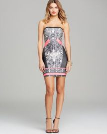 WOW Couture Dress - Printed Bandage at Bloomingdales
