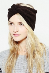 Waffle-Knit Headwrap at Urban Outfitters
