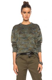 Wal Lurex Sweatshirt by Isabel Marant at Forward by Elyse Walker