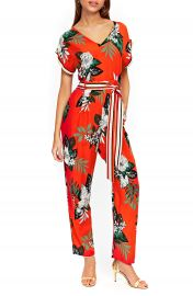 Wallis Tropical Print Jumpsuit at Nordstrom