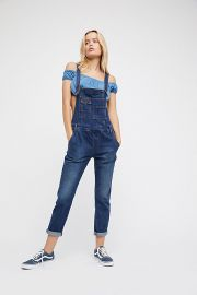 Washed Denim Overall  Jacob Blue at Free People