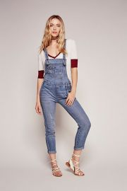 Washed Denim Overalls at Free People