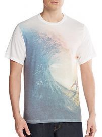 Wave graphic tee at Saks Off 5th