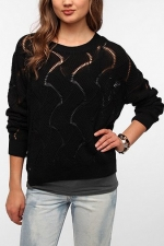 Wave knit sweater from Urban Outfitters at Urban Outfitters