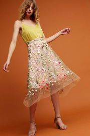 Waverly Garden Skirt at Anthropologie