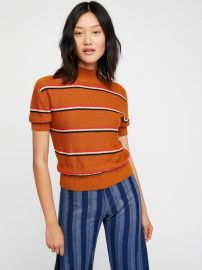 Way Back Mock Neck Sweater at Free People