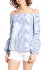 Wayf Rushville Off the Shoulder Top at Nordstrom