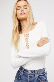We The Free Jacqui Layering Top by Free People at Free People
