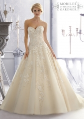 Wedding gown by Mori Lee at Mori Lee
