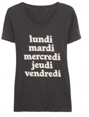 Weekdays tee by J Crew at Net A Porter
