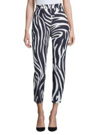 Weekend Max Mara - Zebra-Print Pants at Saks Fifth Avenue