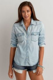 Western Denim Shirt at American Eagle