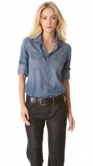 Western shirt by Current Elliot at Shopbop