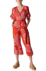 Whistles Kamma Palmyra Print Jumpsuit at Nordstrom