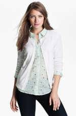 White cardigan at Nordstrom at Nordstrom