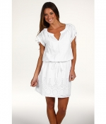 White cotton dress at 6pm