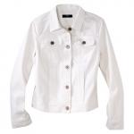 White denim jacket at Target at Target