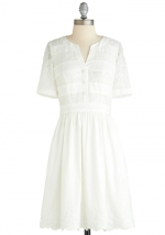 White dress like Emilys at Modcloth