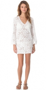 White floral cover up at Shopbop