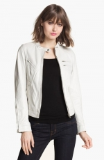 White leather jacket like Janes at Nordstrom