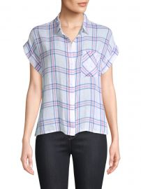 Whitney Stripe Short-Sleeve Top at Saks Fifth Avenue