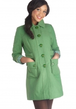 Why Aloe There Coat at ModCloth