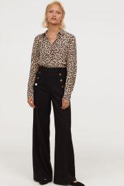 Wide-leg Pants at H&M
