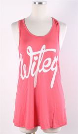 Wifey Tank in Coral at Route 32
